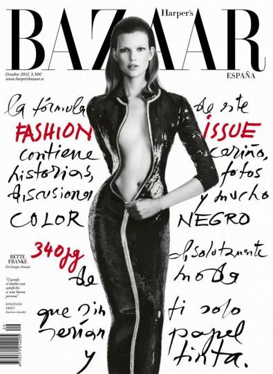 Bette Franke Harpers Bazaar Sophie Vlaming  Marie Claire