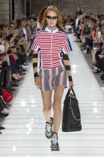 Melody Vroom 4th time World Wide Exclusive for Louis Vuitton SS 2018