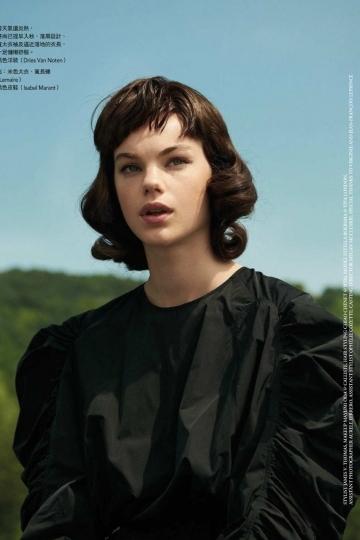 Estella Boersma for Vogue Taiwan July/August, Photographer Naomi Yang, Stylist James V. Thomas, Hair Chiao Chenet, Make-up Mayumi Oda