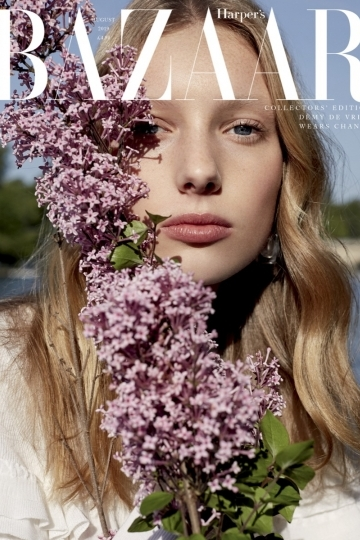 Lovely covers and nice story with Demy de Vries for Harpers Bazaar UK, Photographer Agata Pospieszynska, Stylist Charlie Harrington