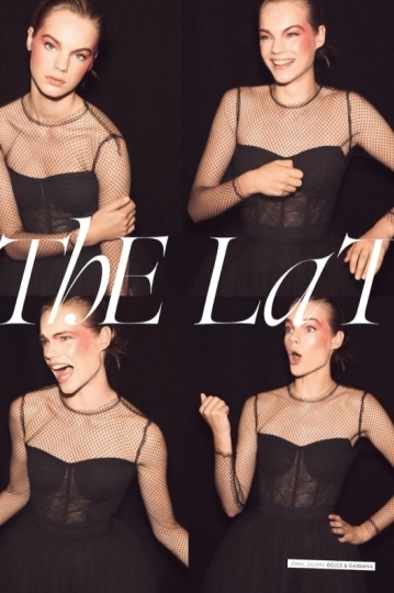 Great very much Estella Boersma story for Elle UK, Photographer Tom Schirmacher, Stylist Charles Varenne, Hair Gavin Harwin, Make-up Virginia Young