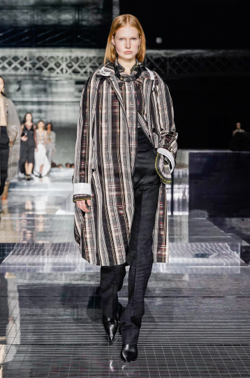 Beyond happy with Levi Achthoven her exclusive show debut for Burberry Fall 2020 RTW by Riccardo Tisci, Casting Italia3bis, Hair Guido, Make-up Pat McGrath