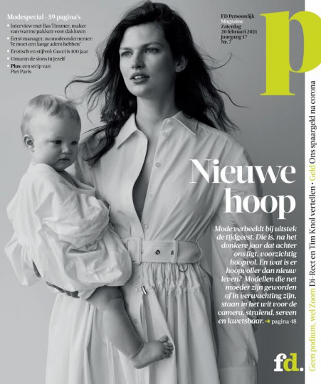 So happy to embrace the next generation of our beloved models Kim Noorda, Bette Franke, Sophie Vlaming, Rosanne Swart, Elise van 't Zand and Rianne Haspels in this lovely story for FDPersoonlijk.