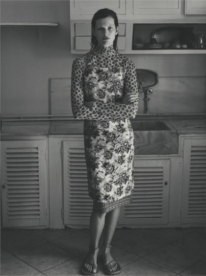 Oh les beaux jours with Bette Franke for M Le Magazine du Monde, captured by Annemarieke van Drimmelen, styled by Ludivine Poiblanc, Art J-B Talbourdet, casting Barbara Nicoli casting