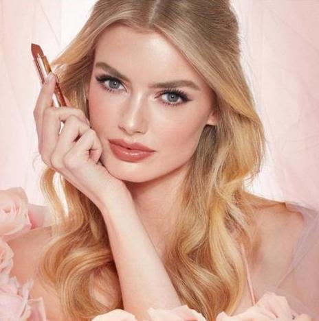 La bella Hanna for the Look of Love campaign Charlotte Tilbury, Photographer Matt Easton, Make-up Christine Anderson, Hair Sarah Palmer