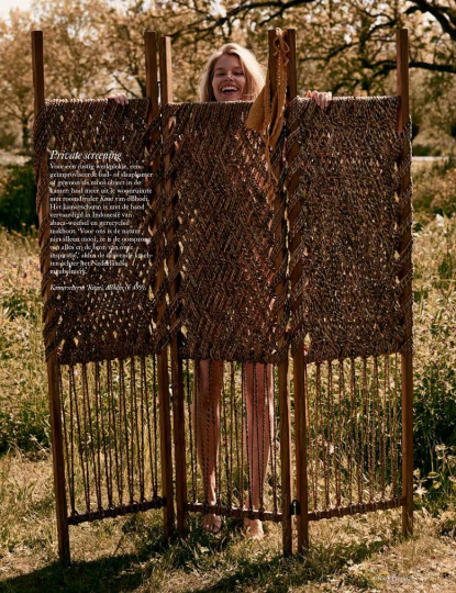 Fresh beauty Annemara for Vogue Living, Photographer Paul Bellaart, Styling Valerie van der Werf, hair and make-up Kimm Bakkers